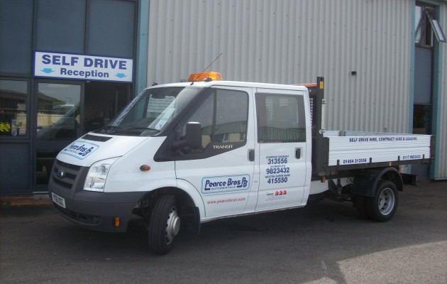 Ford Transit Tipper Double Cab3