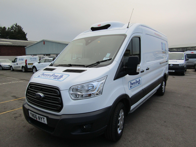 Refrigerated Ford Transit LWB 350 High Roof