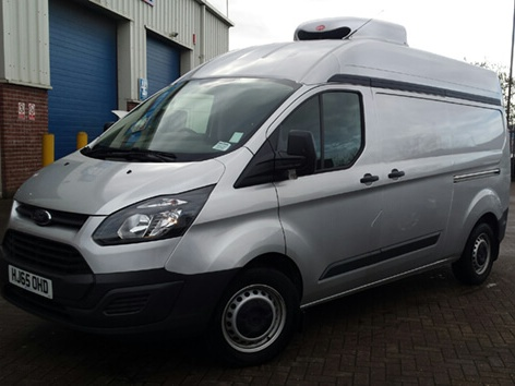 Refrigerated Ford Transit SWB Med Roof 3