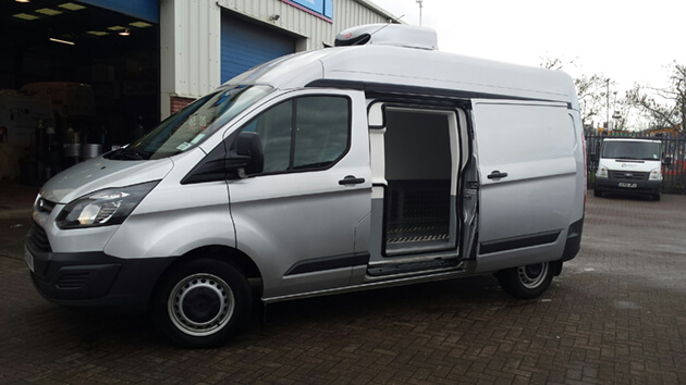 Refrigerated Ford Transit SWB Med Roof